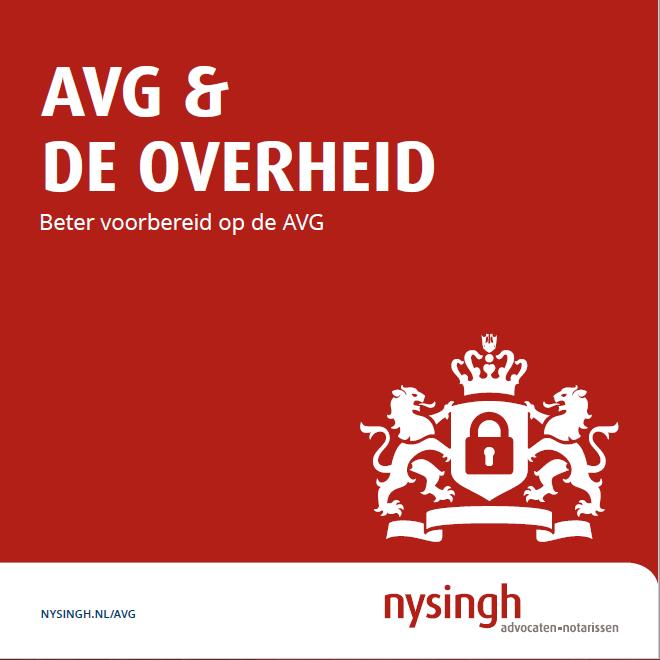 AVG en de Overheid_cover