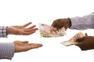 Handen Met Geld