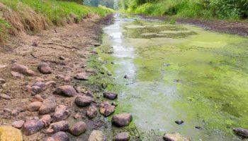 Droogte Afsluiting Watergang Waterschap