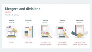 mergers and divisions